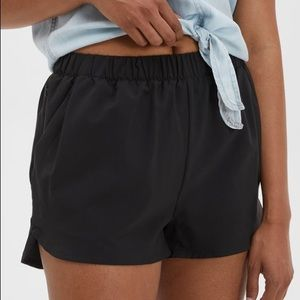 MEC Black Shorts with built-in support